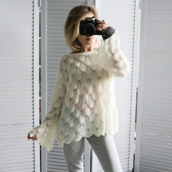 Littledesire Loose Pullovers Women Sweater
