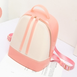 Littledesire Cute Jelly Plastic Small Backpack