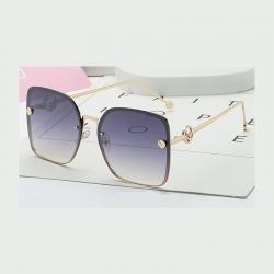 Luxury Vintage Designer Square Sunglasses
