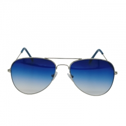 Littledesire Unisex Blue Aviator Sunglasses