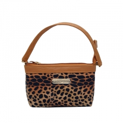 Littledesire Leopard Print Mini Handbag