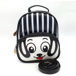 Printed Cute Cartoon Travel Shoulder Backpack - 8.5 inch