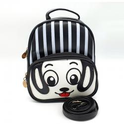 Printed Cute Cartoon Travel Shoulder Backpack - 8.5 inch