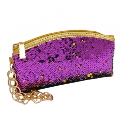Littledesire Sequins Zipper Clutch Wallet 9 Inch