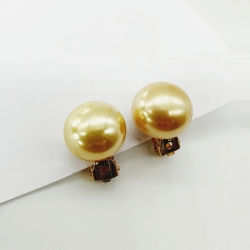 Glossy Round Party wear Stud Earrings