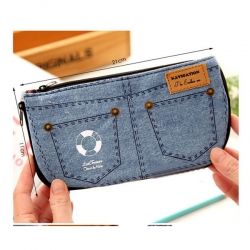 Fashion Denim Wallet