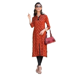 Littledesire Printed Straight Kurta