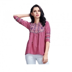 Littledesire Stylish Embroidered Work Top