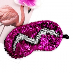 Littledesire Sequins Glitter Sleeping Eye Mask