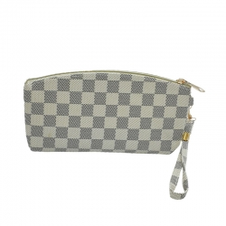 Littledesire Chess Print Zipper Clutch Wallet