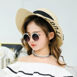 Littledesire Metal Frame Girls Fashion Trendy Sunglasses