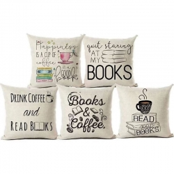 Digital Printed Decorative Throw Pillow Covers 16x 16 inch Pack of 5