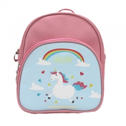 Littledesire Pink Cute Unicorn Kids Small Backpack