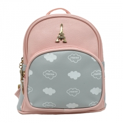 Littledesire PU Leather Cute  Small Backpack