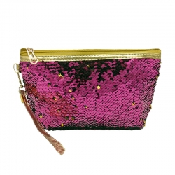 Littledesire Sequins Glitter Cosmetic Organizer Bag