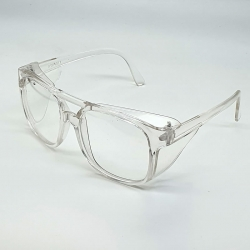 Clear Lens Transparent Safety Unisex Glasses