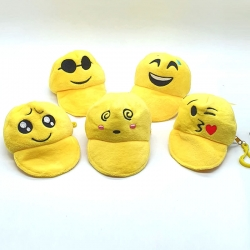 Birthday Party Return Gifts Funny Face Mini Coin Purse 5 Pcs