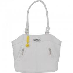 FD Fashion Stylish Solid White Shoulder Bag