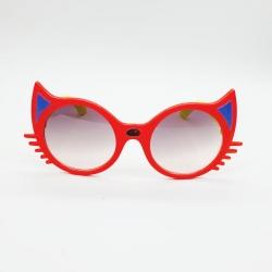 Cat Design Unisex Kids Cute Cartoon Sunglasses