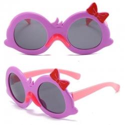 Cute Cartoon Duck Bow Design Anti-UV Spectacles Kids Sunglasses