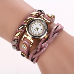 Fashion Leather Strap Wrist Watch