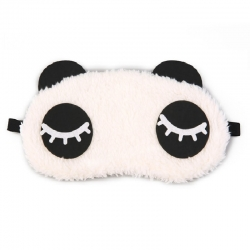 Eyelashes Panda Travel Sleep Blindfold Eye Mask