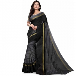 Littledesire Chanderi Woven Saree With Blouse