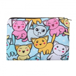 Littledesire Cartoon Printed Cosmetic Travel Pouch Bag