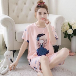 Littledesire Top & Short Suit Set Sleepwear for Women