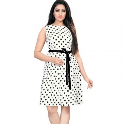 Littledesire Dot Printed Short Dress