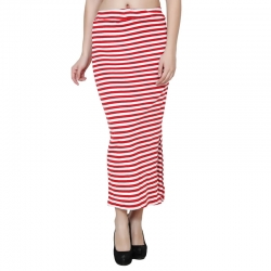 Littledesire Striped Print Long Pencil Skirt