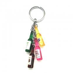4 Bottle Stylish Keychain