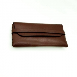 High Quality Leather Sunglasses Case Pouch Cover