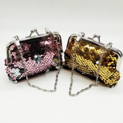 Littledesire Sequins Handy Clutch Mini Wallet 2 Pcs- 4.5 inch