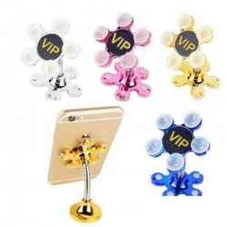 Mobile Phone Stand Magic Suction Cup Holder Mount Pack of 6