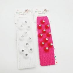 Elastic Hairband For Babies Kids Girls 2 Pcs