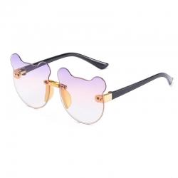 Retro Cat Ear Anti-UV400 Unisex Kids Sunglasses