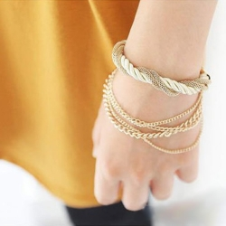 Chain Braided Rope Multilayer Bracelet