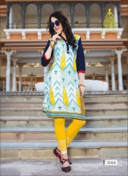 Littledesire Women Daily Wear Printed Cotton Kurta