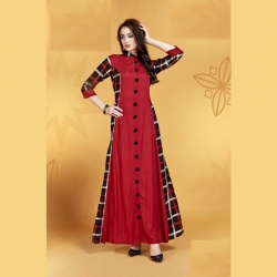 Littledesire Stylish Printed Long Kurta