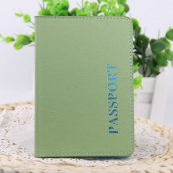 Travel PU Passport solid Cover Wallet