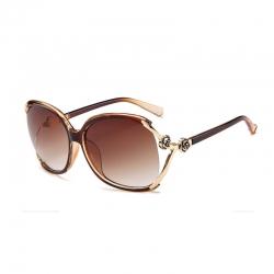 Vintage and Stylish Square Big Frame Sunglasses