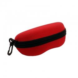 Red Zipper Sunglasses Case Cover