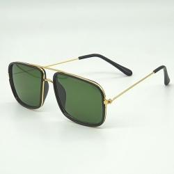 Littledesire Square Lens Metal Frame Unisex Sunglasses