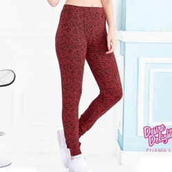 Littledesire Printed Women Cotton Maroon Pajama
