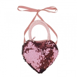 Sequins Cross-body Girls Cute Sling Cum Hand Bag