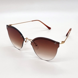 Frameless Women Fashion Lightweight Sunglasses