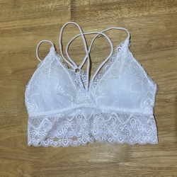 Floral Lace Beautiful Wireless Style Bralette Tube