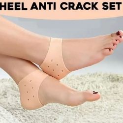 Silicone Heel Protector Pain Relief Anti Cracked Heel Set