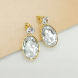 Littledesire Water Drop Crystal Earrings